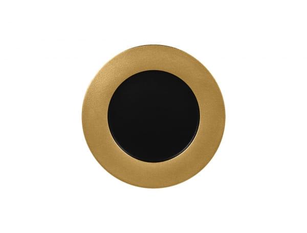 RAK Teller flach rund Ø 27 cm METALFUSION Gold
