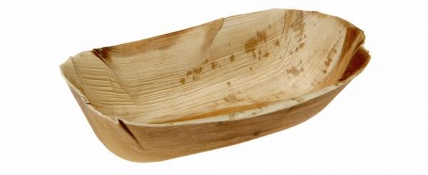 Palmblattschalen oval 22 x 12,5 cm tief 6 cm