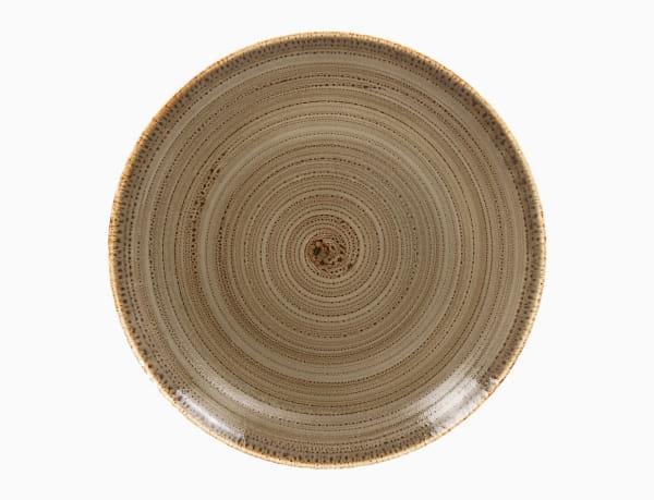 RAK Teller flach rund Ø 31 cm Alga Twirl