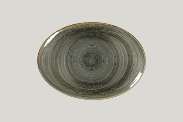 RAK Platte oval L 32 cm B 23 cm RAKSTONE / SPOT peridot (SPTNNOP32)