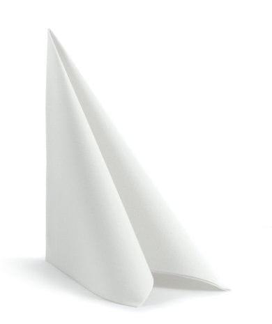 Airlaid-Servietten 40 x 40 cm weiß