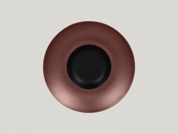 RAK Gourmetteller tief D. 26 cm H. 6 cm METALFUSION bronze