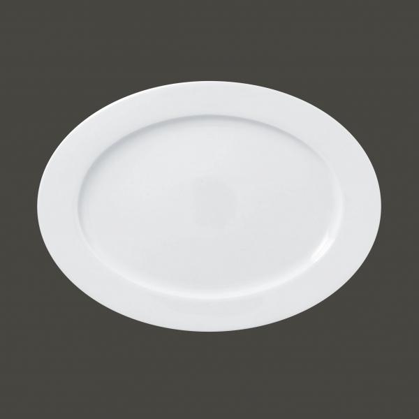 RAK Platte oval L 33.8 cm W 25 cm Ht. 2.3 cm weiß (ASOP34)