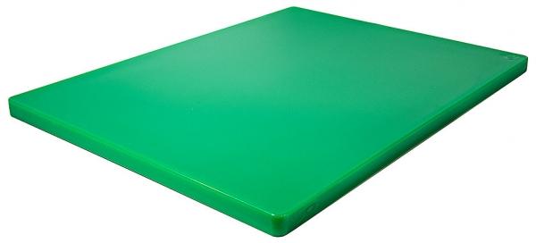 Schneidbrett HACCP ohne Füßchen Länge: 61 cm Breite: 46 cm Dicke: 2,5 cm grün