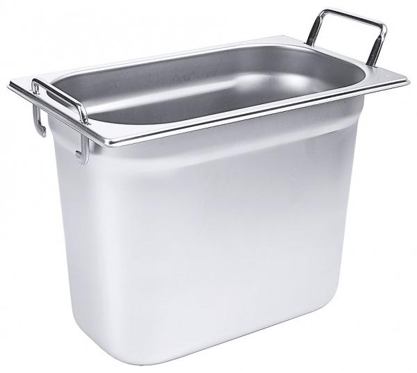 GN-Behälter mit Fallgriffen 1/4 Tiefe: 200 mm Volumen: 5,5 l