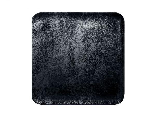RAK Teller quadratisch 30 x 30 cm KARBON schwarz (KRAUSP30)