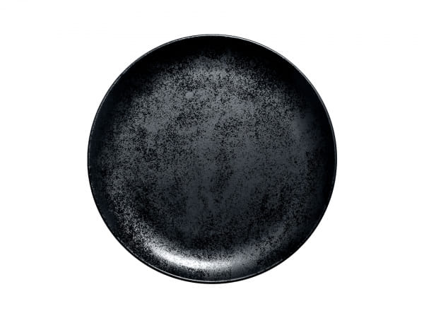 RAK Teller flach coup Ø 27 cm FUSION / KARBON (KRNNPR27)