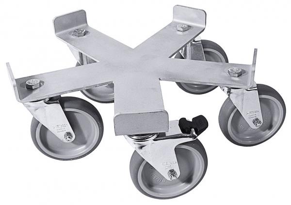 Rolluntersatz, fünfarmig ∅ Rad: 100 mm passend zu 3008/075