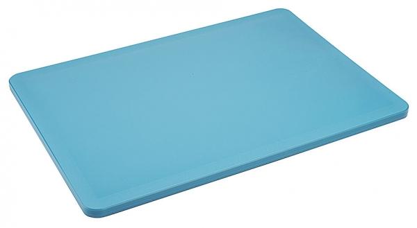 Schneidbrett HACCP Länge: 34,5 cm Breite: 24,5 cm Dicke: 1 cm blau