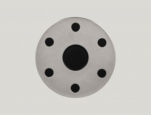RAK Platte für Kaffee Set arabisch D. 31 cm METALFUSION silber