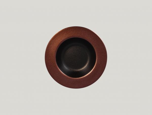 RAK Teller tief D. 23 cm H. 4 cm METALFUSION bronze