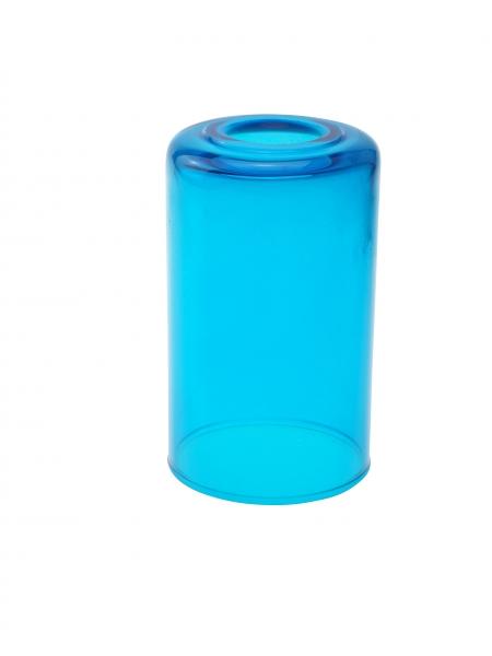 Candola Glaszylinder klar gekürzt, polar (Type: V) - 6 Stück