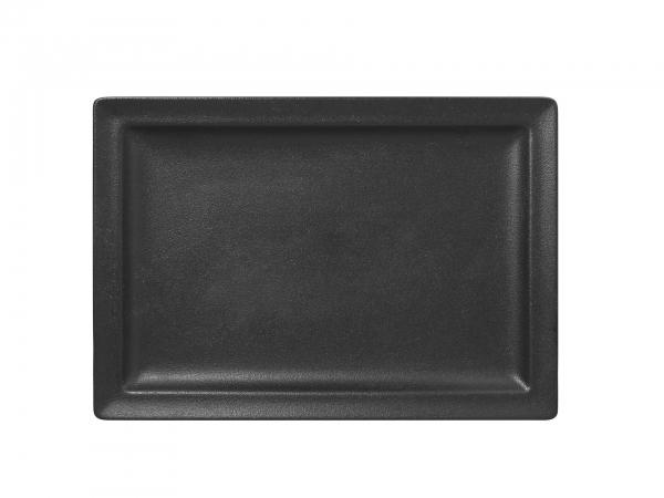 RAK Teller flach rechteckig 33 cm x 23 cm NEOFUSION black