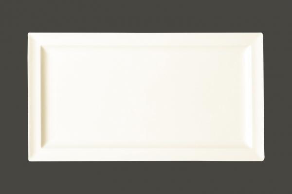 RAK Teller flach mit Rand 38.5cm x 21cm Ht.2.4 cm CLASSIC GOURMET (CLRP38)