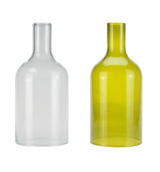 Candola Glaszylinder grün für Ino Wood Green (Type: K/A/V) - 6 Stück