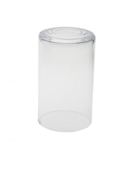 Candola Glaszylinder klar gekürzt (Type: V) - 6 Stück