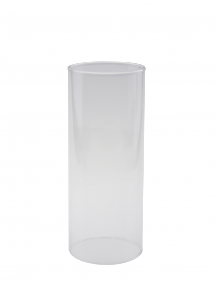 Candola Glaszylinder Pipe klar (Type: A) - 6 Stück