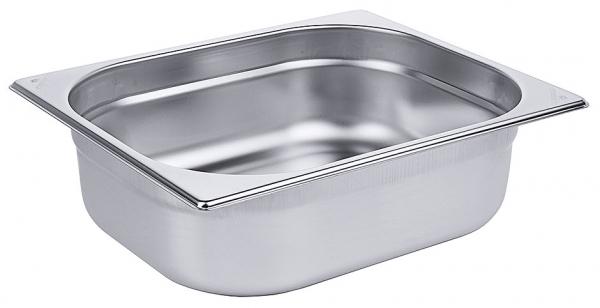 GN-Behälter 1/2 Tiefe: 100 mm Volumen: 5,7 l