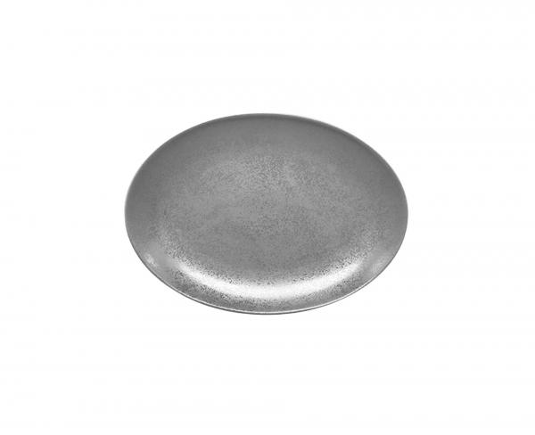 RAK Platte oval Länge: 32 cm Breite: 23 cm Shale (SHNNOP32)