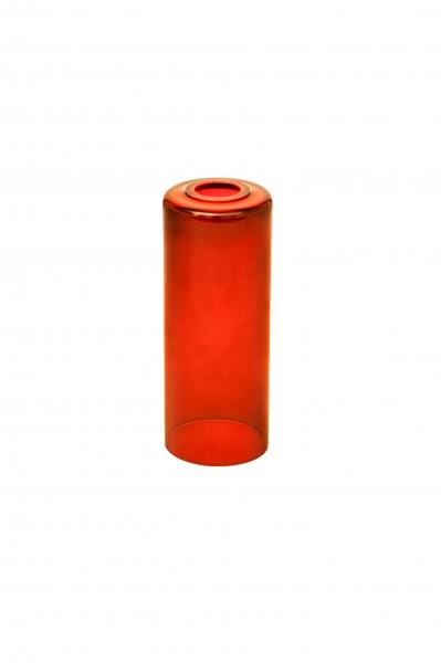 Candola Glaszylinder klar, red (Type: A) - 6 Stück
