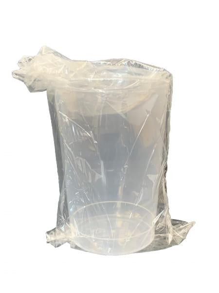 Zahnputzbecher PP 0,2 l einzeln verpackt