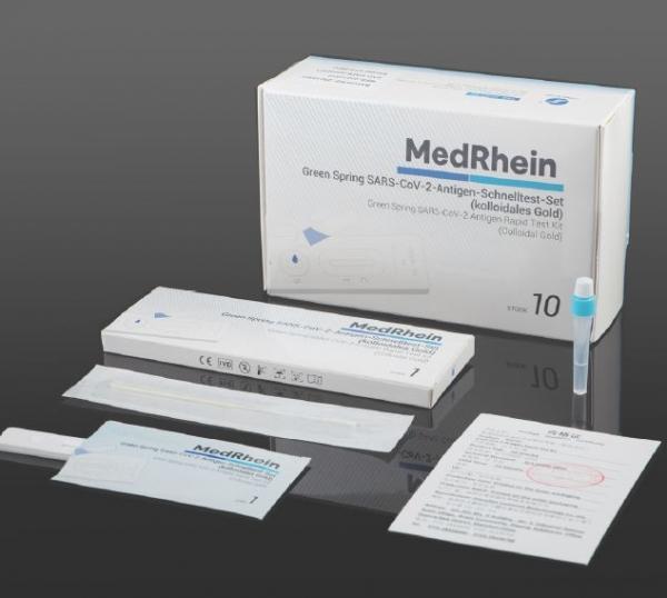 Covid 19 Rapid Test (Schnelltest) für Vorderen Nasenabstrich und Rachenabstrich