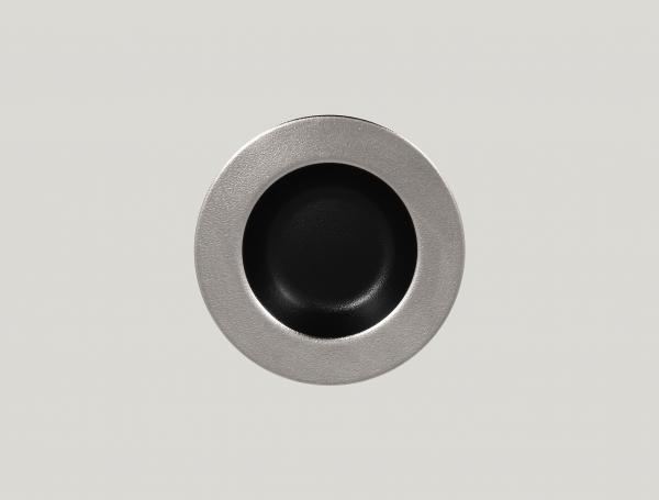 RAK Teller tief D. 23 cm H. 4 cm METALFUSION silber