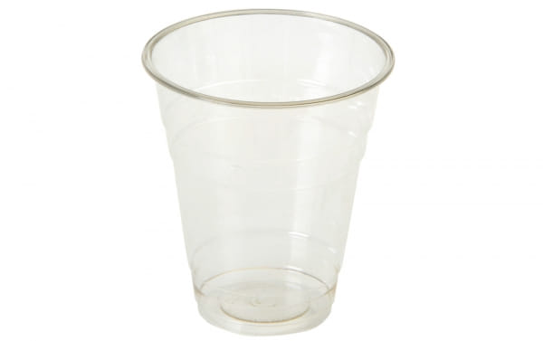 Trinkbecher PLA 300 ml für Kaltgetränke Ø 9,6 cm transparent