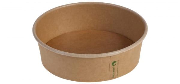 Naturesse Salatschale Kraftpapier Ø 15 cm 480 - 500 ml braun (17011)