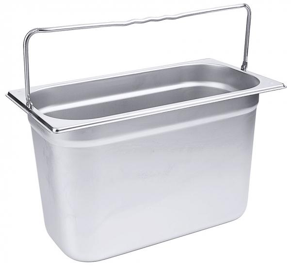 GN-Behälter mit Bügelgriffen 1/3 Tiefe: 200 mm Volumen: 7,8 l