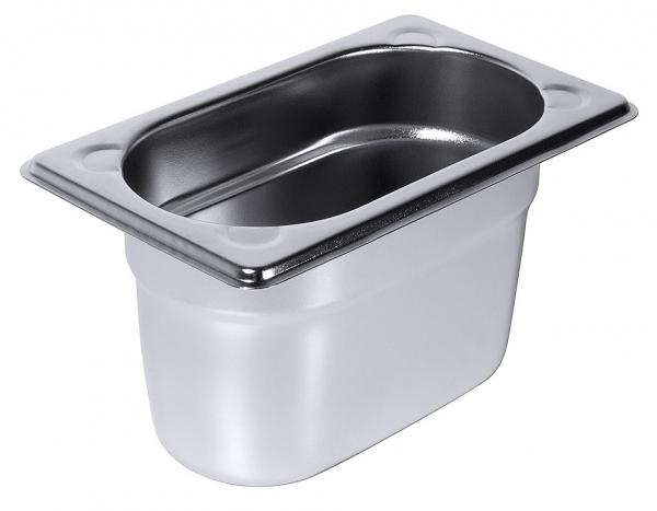 GN-Behälter Serie 8600 1/9 Tiefe: 100 mm Volumen: 1 l