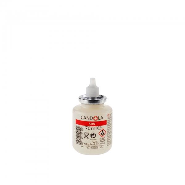Candola Austauschflasche 50V 70 ml Brenndauer bis 20h - 40 Stück
