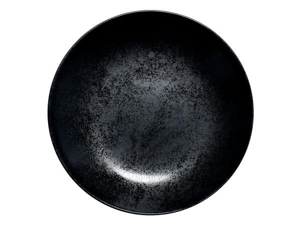 RAK Teller tief rund Ø 28 cm FUSION / KARBON (KRNNDP28)