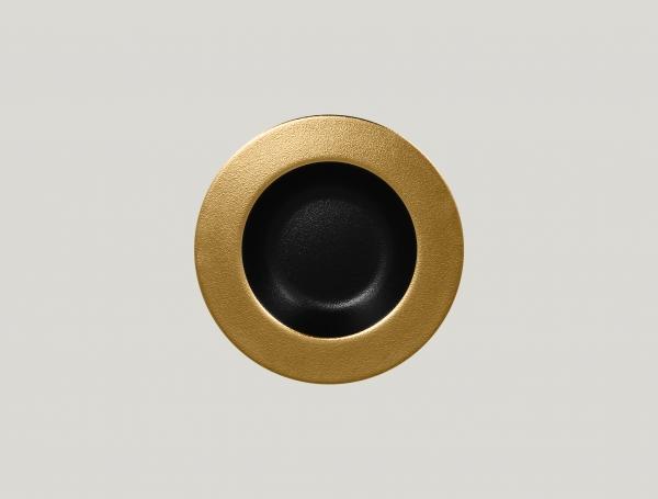 RAK Teller tief D. 23 cm H. 4 cm METALFUSION gold