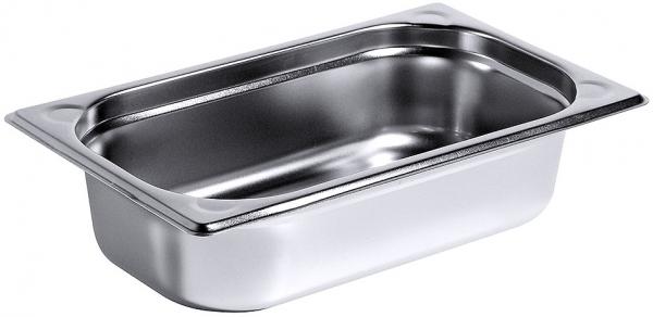 GN-Behälter Serie 8600 1/4 Tiefe: 65 mm Volumen: 1,8 l