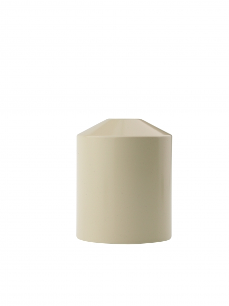 Candola Zierhülle beige für Candol Tischlampe Hülle 712 K - 6 Stück
