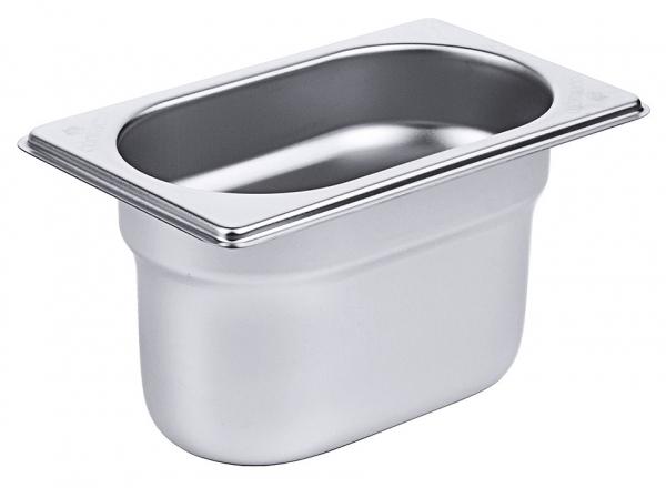 GN-Behälter 1/9 Tiefe: 100 mm Volumen: 1 l