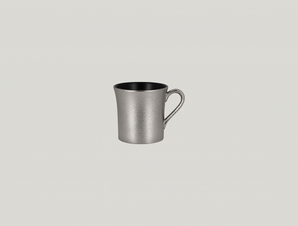 RAK Kaffeetasse D. 7,7 cm H. 7,8 cm Inh. 20 cl METALFUSION silber