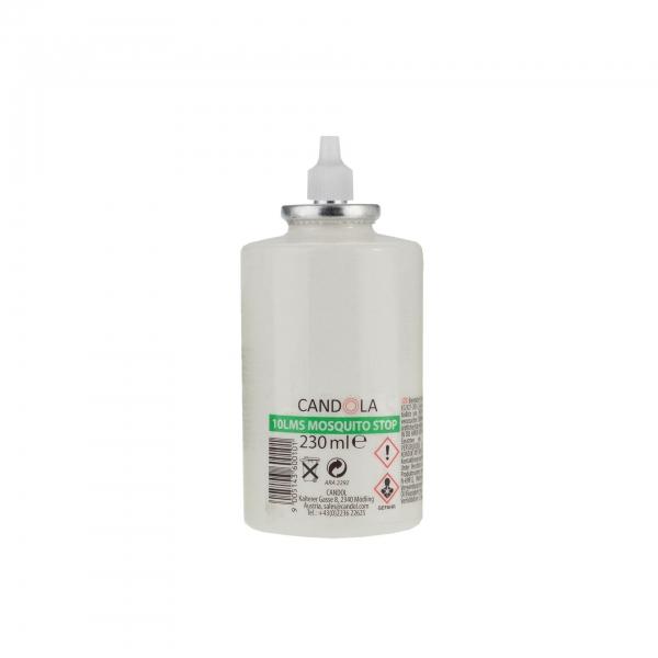 Candola Austauschflasche MOSQUITO STOP 10LMS 220 ml Brenndauer bis 70h -12 Stück