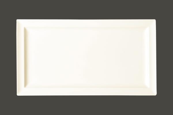 RAK Teller flach rechteckig 38 x 21 cm CLASSIC GOURMET weiß