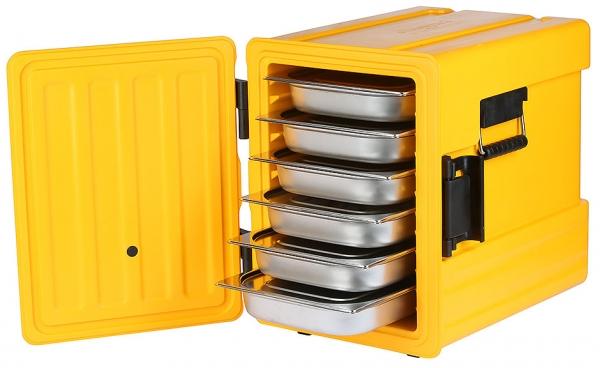 Thermobox GN 1/1 Länge außen: 49,5 cm Breite außen: 63,5 cm Höhe außen: 63 cm