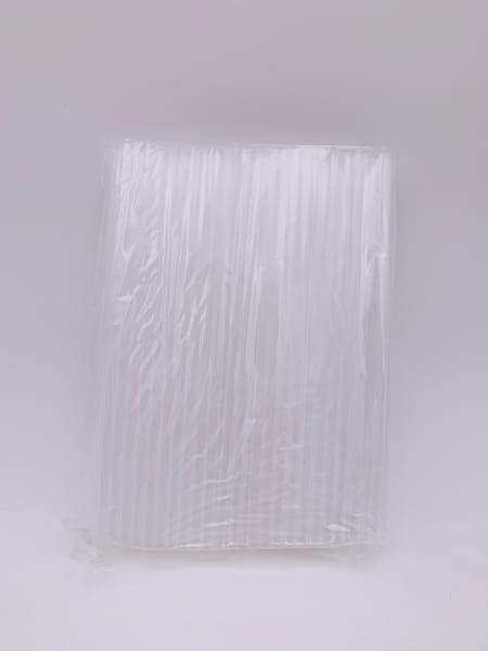 Jumbo Trinkhalme 25 cm Ø 8 mm transparent