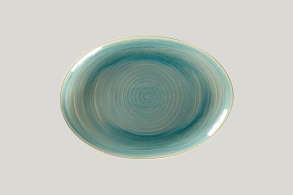 RAK Platte oval L 32 cm B 23 cm RAKSTONE / SPOT saphire (SSRNNOP32)