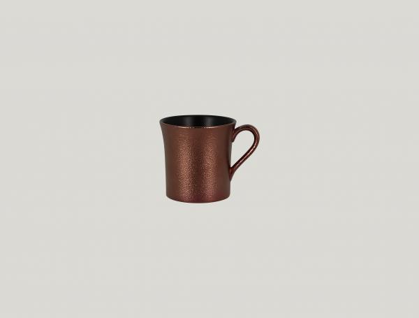RAK Kaffeetasse D. 7,7 cm H. 7,8 cm Inh. 20 cl METALFUSION bronze