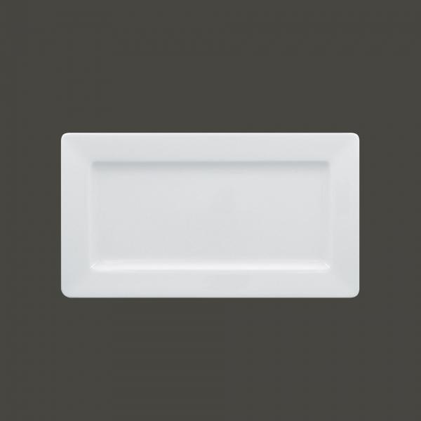 RAK Teller rechteckig breit Länge: 29 cm Breite: 16 cm ACCESS weiß (ASRW29)