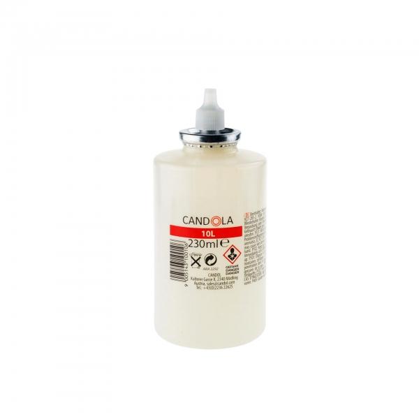 Candola Austauschflasche 230 ml Brenndauer bis 80h - 12 Stück (10 L)