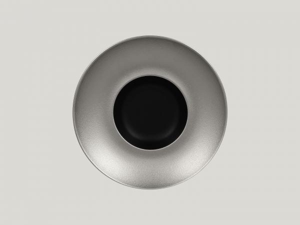 RAK Gourmetteller tief D. 26 cm H. 6 cm METALFUSION silber
