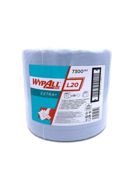 Putzrolle Wypall L20 Airflex 2-lagig 23,5 x 38 cm 500 Blatt blau