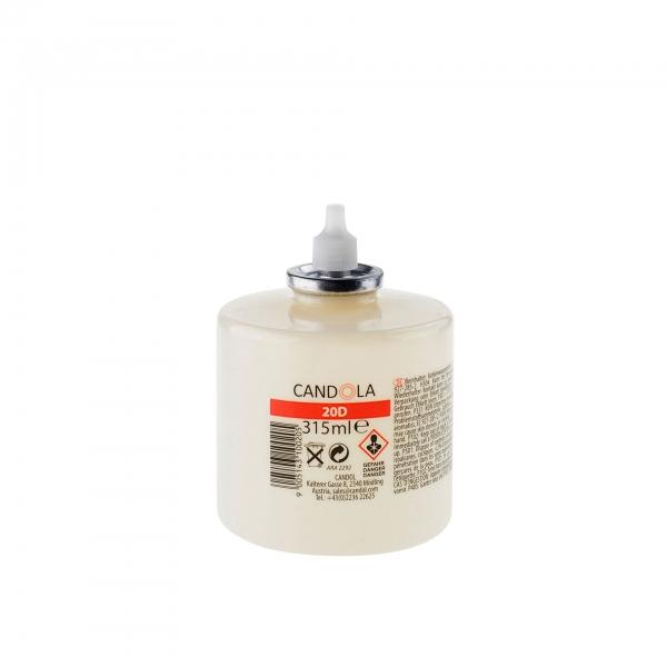 Candola Austauschflasche 20D 315 ml Brenndauer bis 120h - 6 Stück