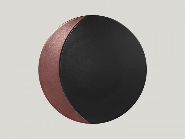 RAK Teller flach rund D. 31 cm METALFUSION bronze